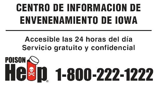 Poison Control Logo Spanish Poison Help Magnet